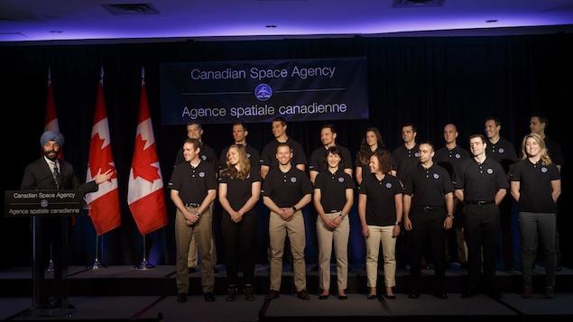 17 finalistes, dont 3Québécois, pour devenir astronaute canadien