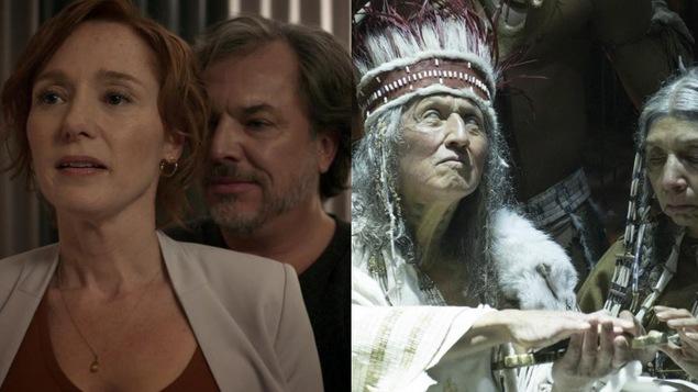 Des scènes des deux films.