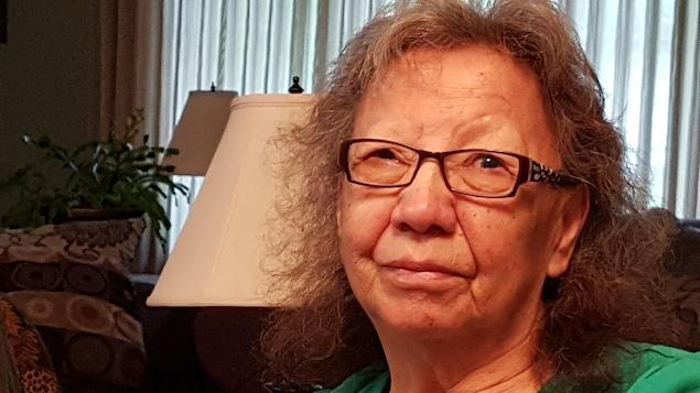 Florence Genaille, une autochtone ayant été victime d'expériences médicales pendant son enfance.