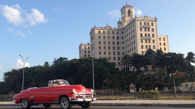L'Hôtel Nacional, à Cuba, où ont été hébergés des membres du FLQ.