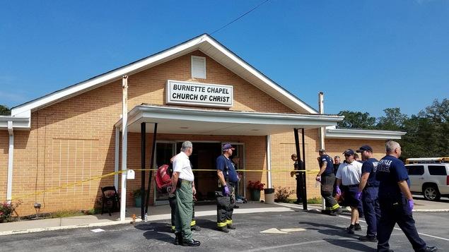 Un homme masqué a ouvert le feu dans une église de Nashville au Tennessee faisant un mort et sept blessés.