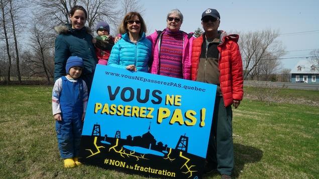 Un groupe de citoyens craint un retour en force des entreprises gazières dans la région de Lotbinière.