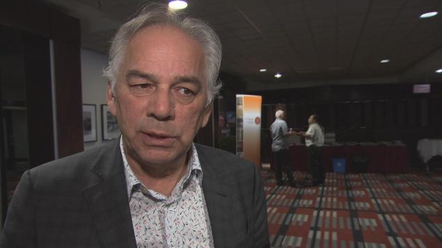 Ghyslain Picard, chef de l'APNQL, est à Trois-Rivières pour l'Assemblée des Premières Nations.