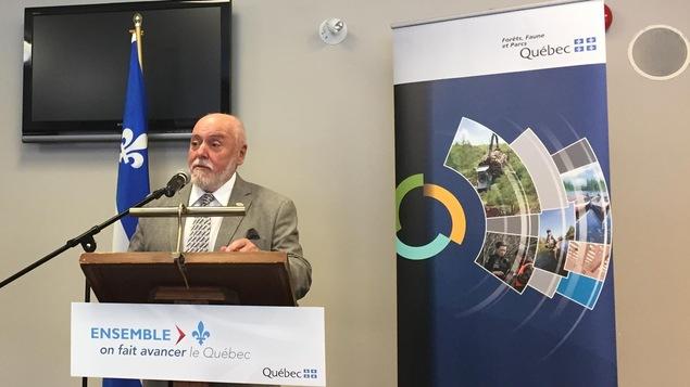 Gilles Potvin, maire de Saint-Félicien