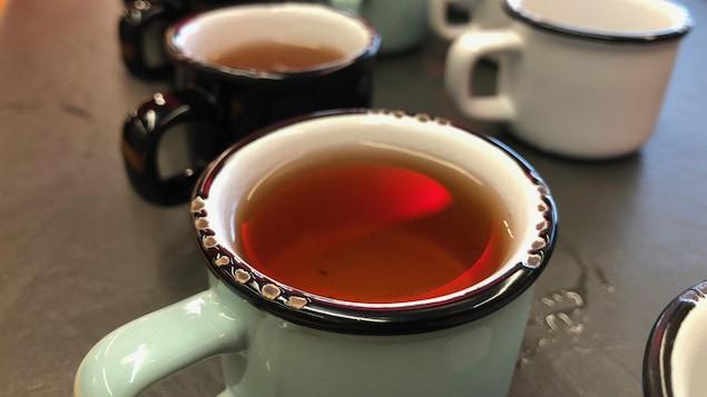 La découverte du thé