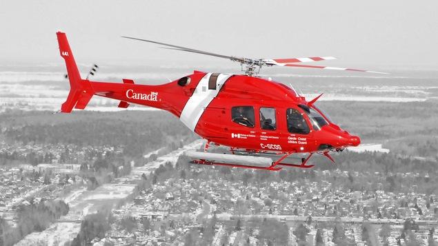 Hélicoptère de la Garde côtière canadienne