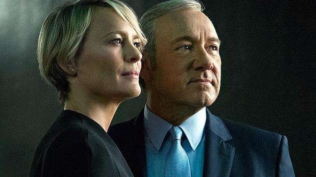Robin Wright et Kevin Spacey dans « House of Cards »