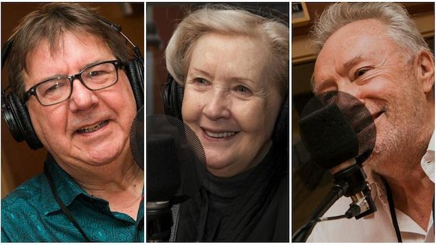 Rémy Girard, Andrée Lachapelle et Gilbert Sicotte.