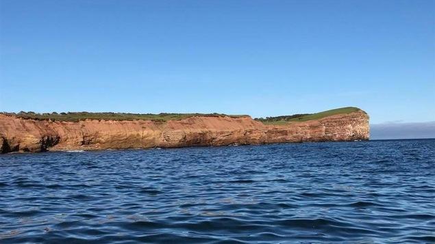 L'île Brion aux  îles-de-la-Madeleine
