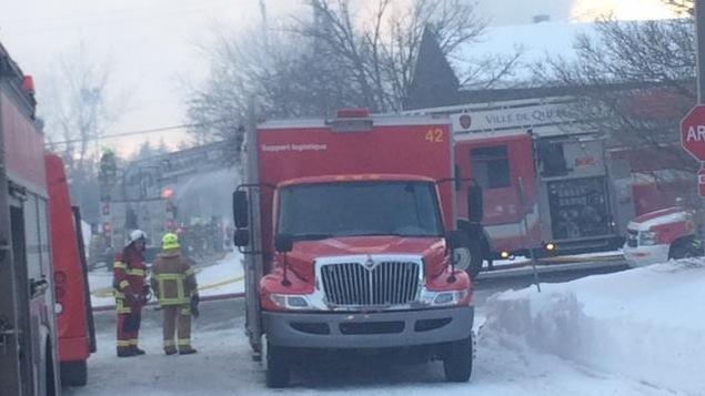 Incendie dans une maison en construction dans lebourgneuf for Alarme incendie obligatoire maison