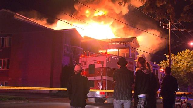 Incendie à Terrebonne: une résidence pour personnes âgées est évacuée