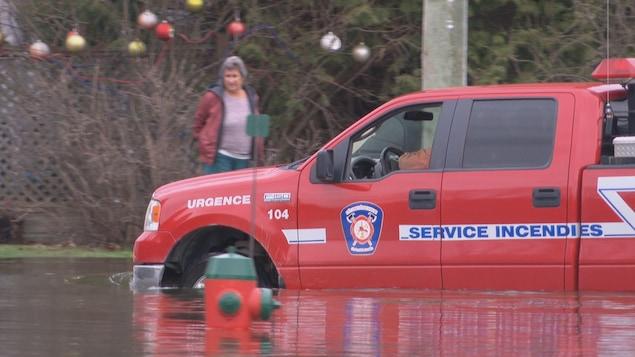 L'état d'urgence est décrété à Saint-André-Avellin