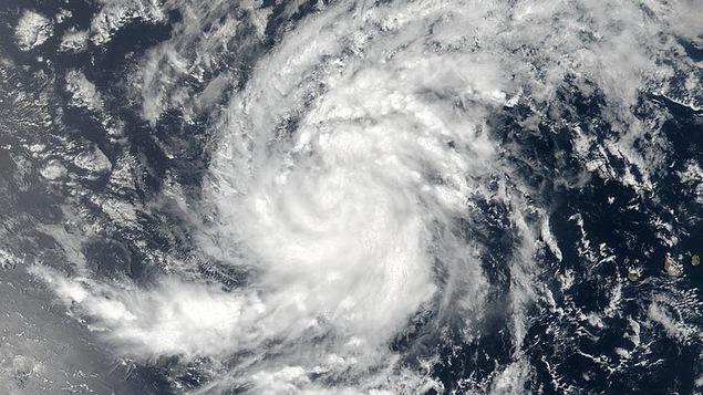 Une image satellite de la tempête Irma, prise par la NASA.