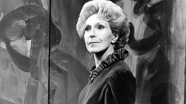 Janine Sutto dans la série «Journal d'un curé de campagne», en 1981