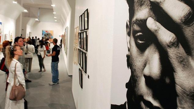 Un portrait de Jean-Michel Basquiat exposé à Milan en 2006