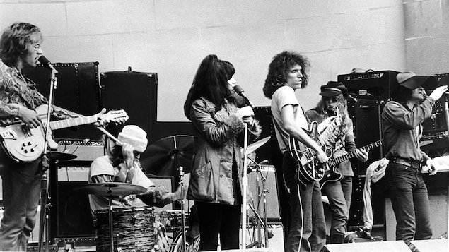Jefferson Airplane en 1969, à Central Park à New York