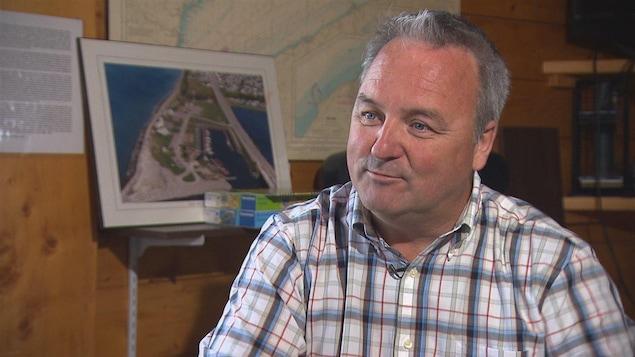 Jérôme Landry, maire de Matane