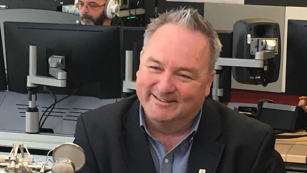 Jérôme Landry, maire matane, et nouveau représentant du Bas-Saint-Laurent au conseil d'administration de l'UMQ