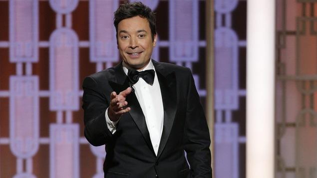 L'animateur des 74e Golden Globes, Jimmy Fallon