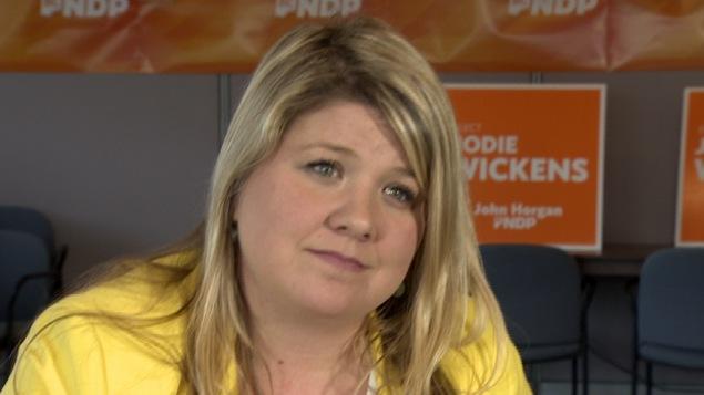 Jodie Wickens du Nouveau Parti démocratique de la Colombie-Britannique