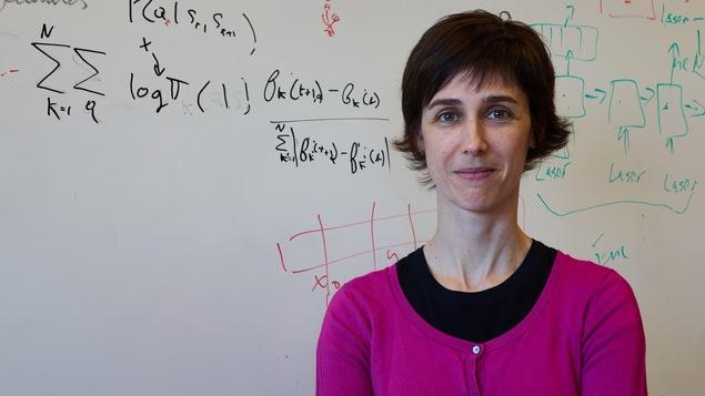 Joelle Pineau, professeure d'informatique à l'Université McGill