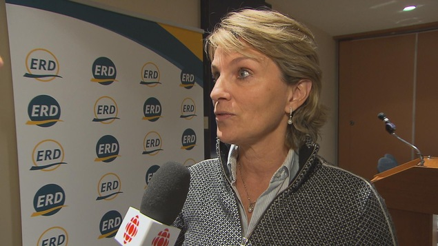 La chef de l'ERD, Josée Néron
