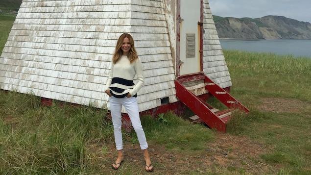 Julie Snyder aux Îles-de-la-Madeleine