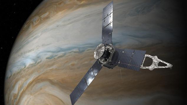 DIAPORAMA - Les yeux dans les yeux entre la sonde Juno et Jupiter