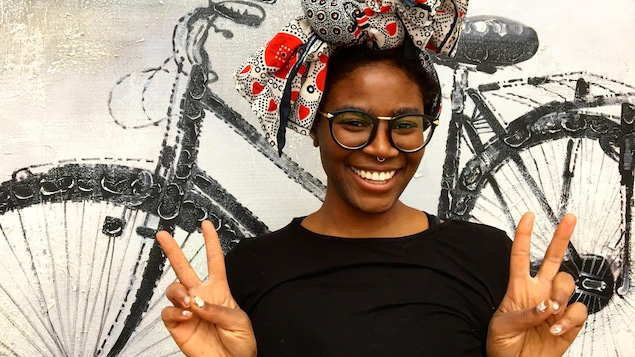 Karimah fait partie de l'émission populaire La Voix.