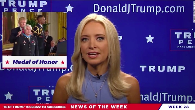 Kayleigh McEnany, nouvelle porte-parole du parti républicain — Etats-Unis