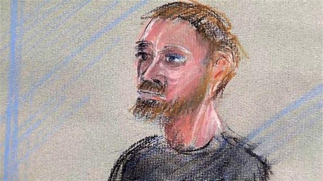 Kevin Addison lors de son procès à Nanaimo en Colombie-Britannique