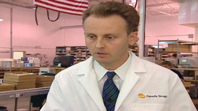 Le président et fondateur de CanadaDrugs.com, Kristjan Thorkelson, en 2003.