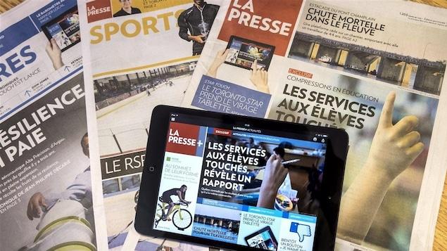 Dernière version papier de La Presse le 30 décembre prochain