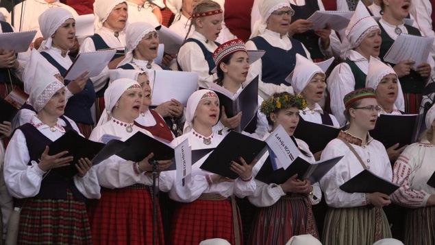 Dzintars chorale de femmes lettones