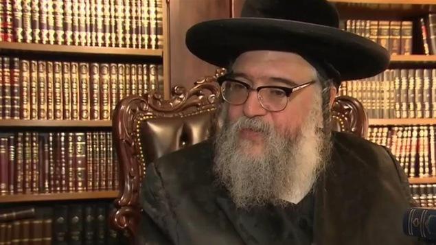 Shlomo Helbrans, leader de la secte Lev Tahor