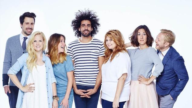 Les comédiens de la série « Like moi! »