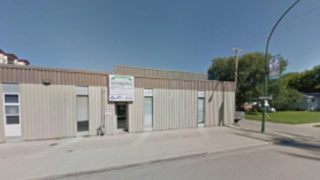 Le local commercial qui abritera la future mosquée de Winkler.