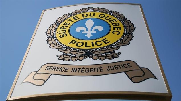 Affiche de la Sûreté du Québec (SQ)