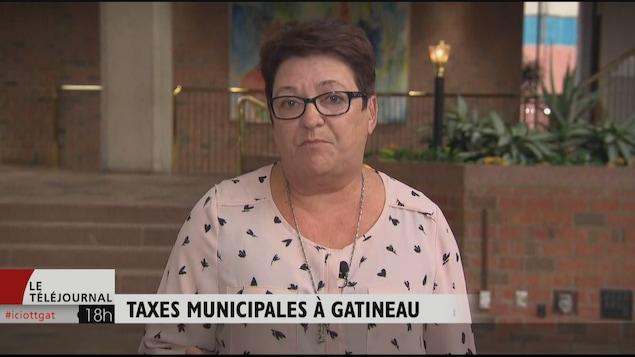 La conseillère Louise Boudrias