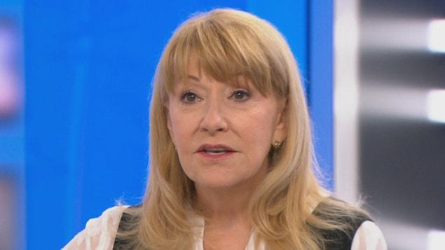 Louise Deschâtelets en entrevue