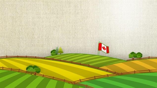 Terres agricoles au Canada