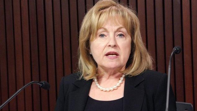 Madeleine Meilleur, ancienne ministre.