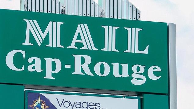 L'enseigne du Mail Cap-Rouge