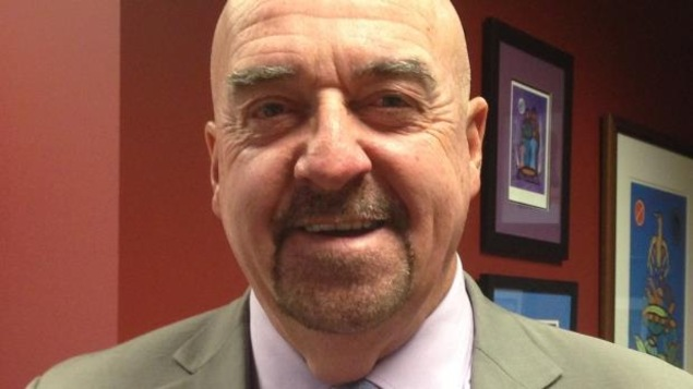 Le maire de Thunder Bay Keith Hobbs.