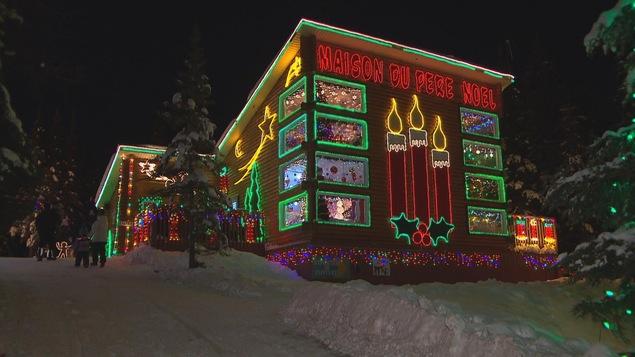 La Maison du Père Noël à Girardville.