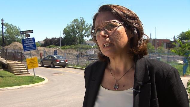 Maja Vodanovic, conseillère d'arrondissement de Lachine