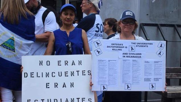 Le président nicaraguayen a salué, mardi, le travail de larmée et.