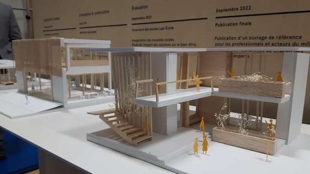 Maquette du projet de Lab-École