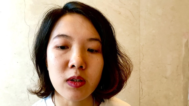 Wei Tingting, directrice du Guangzhou Gender and Sexuality Education Center. Juin 2017.