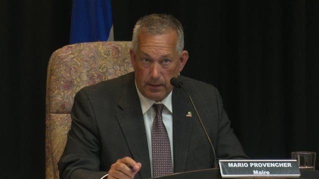 Le maire de Rouyn-Noranda, Mario Provencher